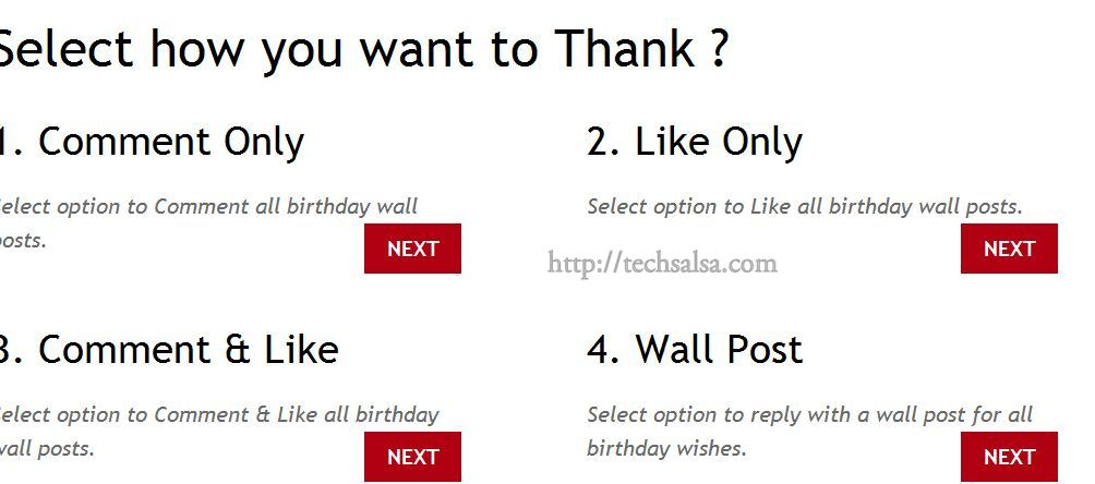 Reply to all your birthday wishes at once on facebook technonaga whatever m4hsunfo Image collections