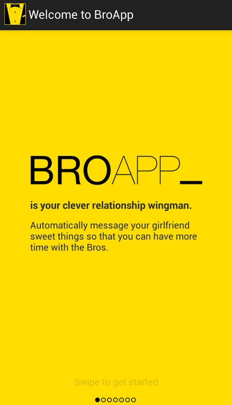 Automatically Send Preset Texts To Your Girlfriend With Broapp